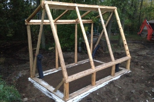 Micro Greenhouse Frame