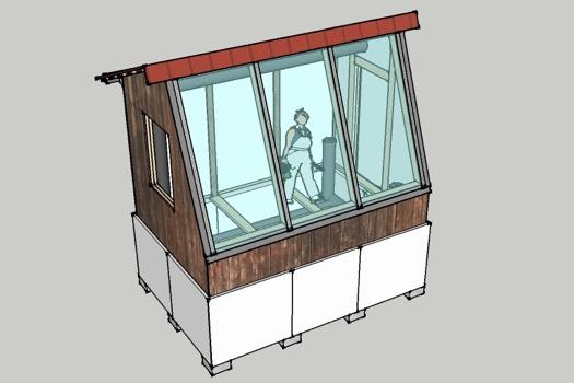 Micro Greenhouse Model