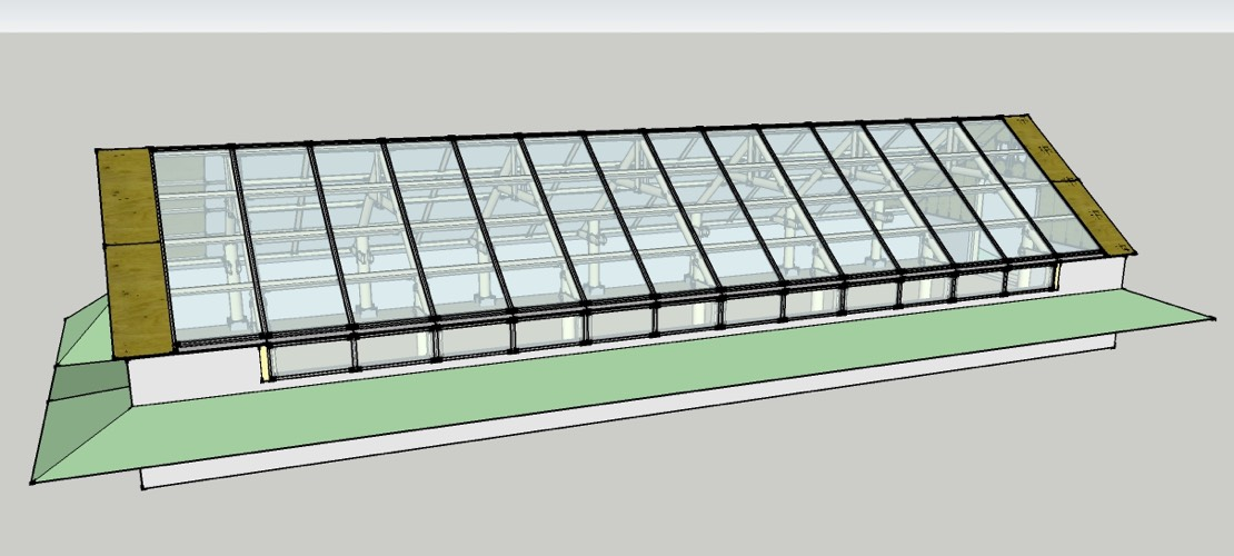 Medium Greenhouse Wood