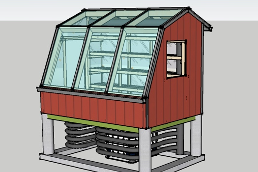 Sunsprout Greenhouse Model